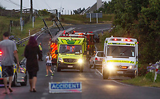 Tauranga-Fatal accident on Oropi Road
