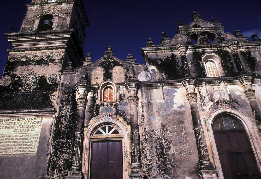 Spanish Colonial Church of La Merced, Granada, Nicaragua, Central America