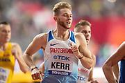 Josh Kerr (Great Britain), 1500 Metres Men Final, during the 2019 IAAF World Athletics Championships at Khalifa International Stadium, Doha, Qatar on 6 October 2019.