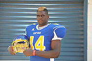 Oxford High's Xavier Pegues (44) at Oxford High School in Oxford, Miss. on Tuesday, August 28, 2012.
