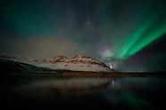 the Northern Lights, over Kirkjufell - 07 Dec 2018