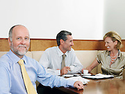 Businesspeople at Lunch