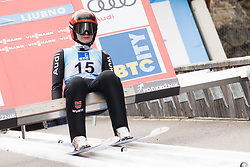 February 8, 2019 - Pauline Hessler of Germany on first competition day of the FIS Ski Jumping World Cup Ladies Ljubno on February 8, 2019 in Ljubno, Slovenia. (Credit Image: © Rok Rakun/Pacific Press via ZUMA Wire)