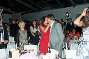 Davina McCall; Matthew Robertson, Glamour Women of the Year Awards 2011. Berkeley Sq. London. 9 June 2011.<br /> <br />  , -DO NOT ARCHIVE-© Copyright Photograph by Dafydd Jones. 248 Clapham Rd. London SW9 0PZ. Tel 0207 820 0771. www.dafjones.com.