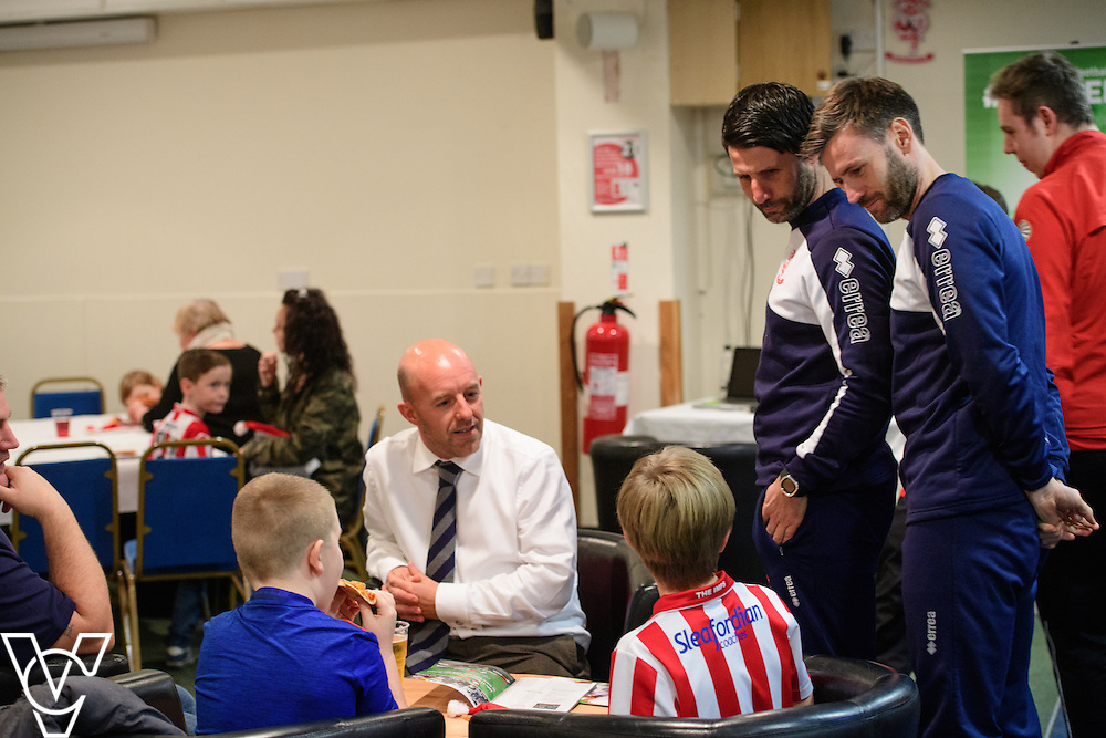 Lincoln City Football Club Sport and Education Trust's Junior RedImps Christmas party.<br /> <br /> Picture: Chris Vaughan Photography<br /> Date: December 15, 2016