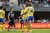 Joie Clermont - 23.05.2015 - Montpellier / Clermont - 26e journee Top 14<br />