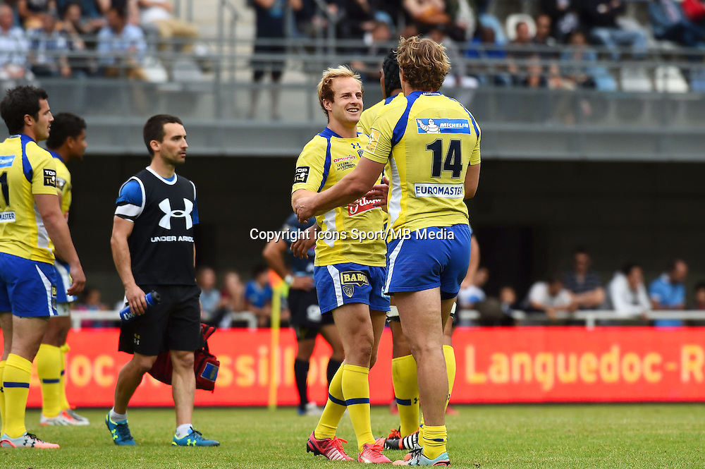 Joie Clermont - 23.05.2015 - Montpellier / Clermont - 26e journee Top 14<br />Photo : Alexandre Dimou / Icon Sport