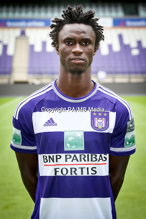 Anderlecht's Idrissa Sylla pictured during the 2015-2016 season photo shoot of Belgian first league soccer team RSC Anderlecht, Tuesday 14 July 2015 in Brussels.