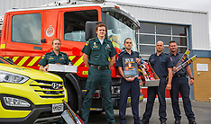 Auckland-Emergency crews combine to promote fireworks safety