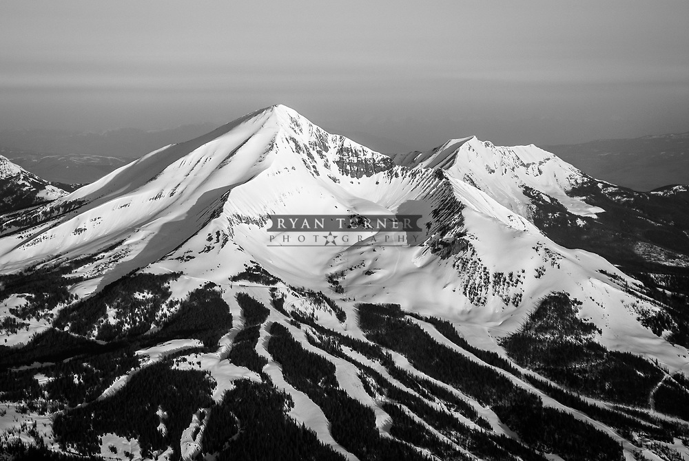 Lone Peak in Big Sky, Montana.  Limited Edition - 75