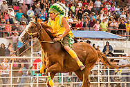 Indian Relay Horse Racing, Crow Fair, Crow Indian Reservation, Montana