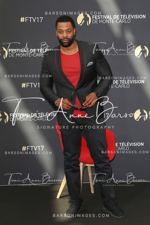 "MONTE-CARLO, MONACO - JUNE 17:  LaRoyce Hawkins attends photocall for ""Chicago PD"" on June 17, 2017 at the Grimaldi Forum in Monte-Carlo, Monaco.  (Photo by Tony Barson/FilmMagic)"