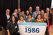 Alumni gather in the Hemmingson Center Ballroom Oct. 9. (Photo by Edward Bell)