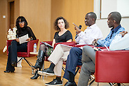 How to Fix Nigeria: Tackling Corruption. Speakers: Charles Abiodun Alao (Professor of African Studies at King's College London), Kayode Ogundamisi (UK-based Nigerian activist and anti corruption campaigner), Maggie Murphy (Transparency International's Senior Global Advocacy Manager), Ayo Sogunro (Writer, Teacher, Columnist, Lawyer) and Funmi Iyanda. London, Dec. 09, 2016 (Photos/Ivan Gonzalez)