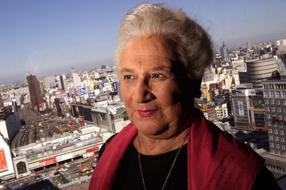 """Beate Sirota Gordon, Author of """"the Only Woman In the  Room"""" a memoir of her years in Japan, after her return at the end of WWII. Gordon         worked in McArthur's headquarters. She and others on his staff were  charged to write a New constitution for Japan in less than two weeks ."""