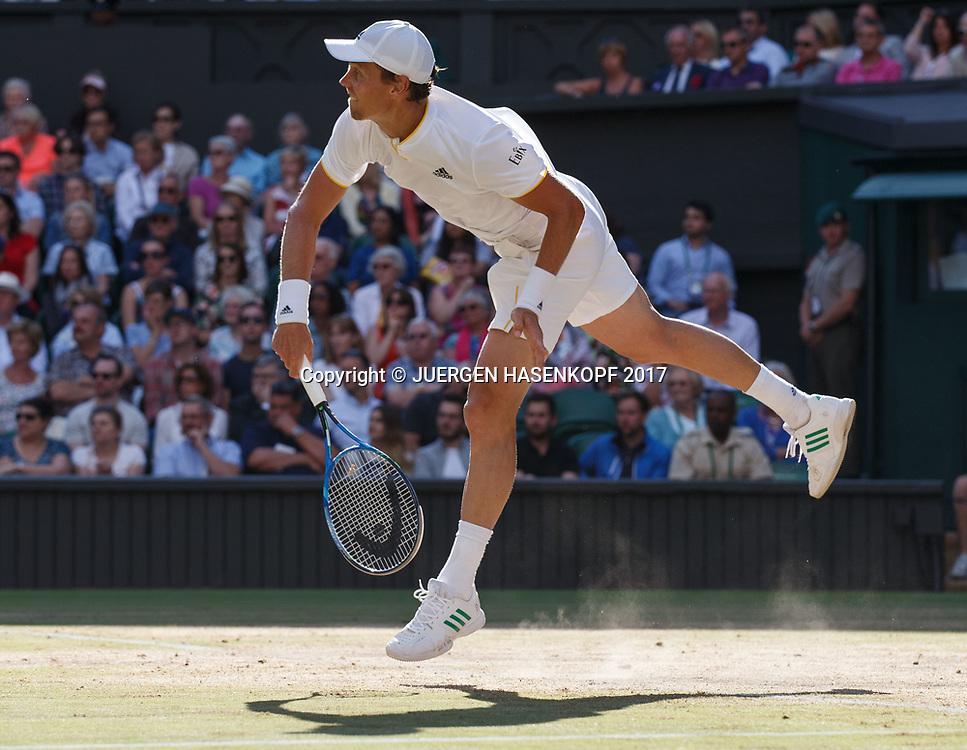 TOMAS BERDYCH (CZE)<br /> <br /> Tennis - Wimbledon 2017 - Grand Slam ITF / ATP / WTA -  AELTC - London -  - Great Britain  - 14 July 2017.