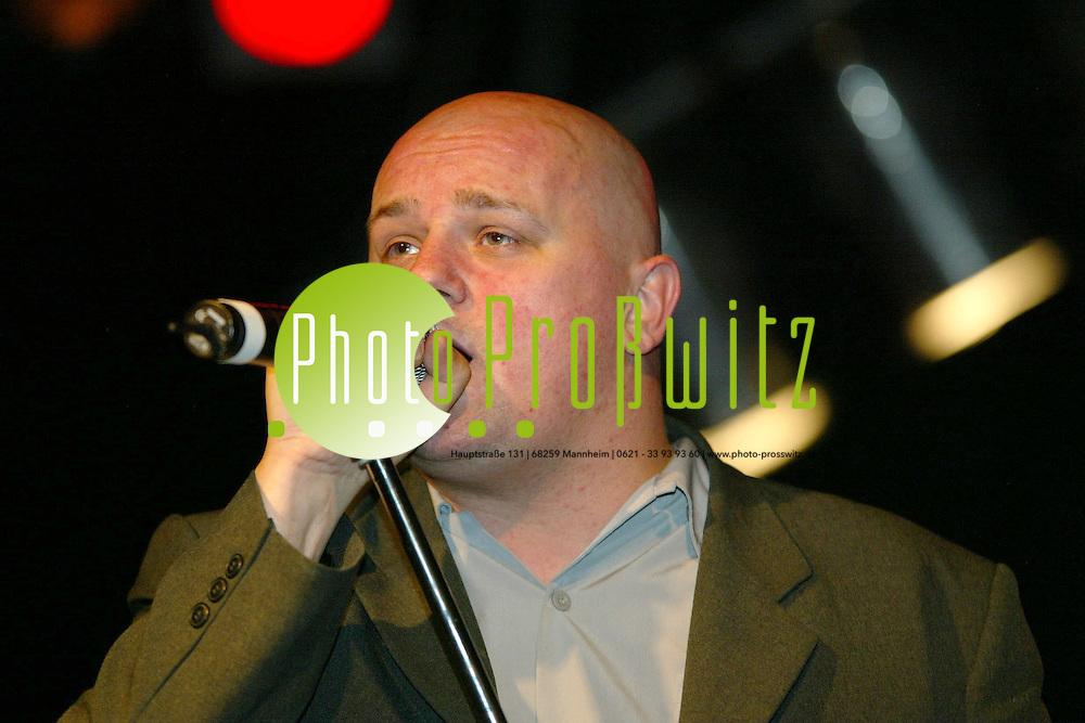 Mannheim. Feuerwache. Konzert mit Rolf Stahlhofen<br /> <br /> Bild: Pro&szlig;witz