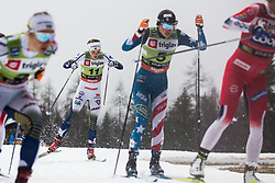 NILLSON Stina (SWE) during the Ladies sprint free race at FIS Cross Country World Cup Planica 2019, on December 21, 2019 at Planica, Slovenia. Photo By Peter Podobnik / Sportida