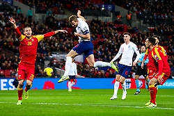 Harry Kane of England cant connect with the cross - Rogan/JMP - 14/11/2019 - FOOTBALL - Wembley Stadium - London, England - England v Montenegro - UEFA Euro 2020 Qualifiers.