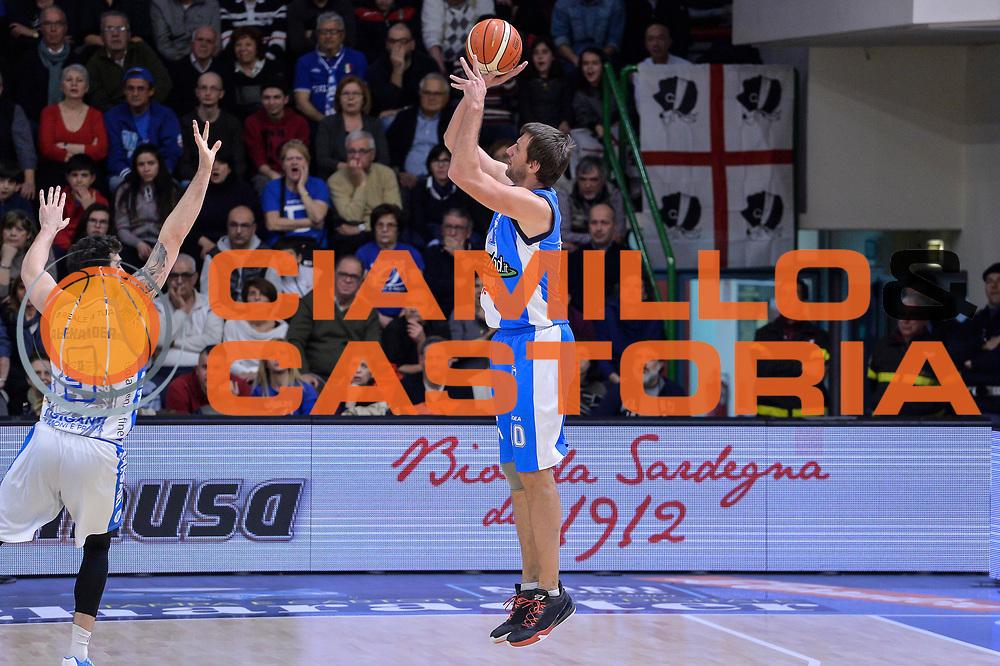 DESCRIZIONE : Beko Legabasket Serie A 2015- 2016 Dinamo Banco di Sardegna Sassari - Betaland Capo d'Orlando<br /> GIOCATORE : Sandro Nicevic<br /> CATEGORIA : Tiro Tre Punti Three Point Controcampo<br /> SQUADRA : Betaland Capo d'Orlando<br /> EVENTO : Beko Legabasket Serie A 2015-2016<br /> GARA : Dinamo Banco di Sardegna Sassari - Betaland Capo d'Orlando<br /> DATA : 20/03/2016<br /> SPORT : Pallacanestro <br /> AUTORE : Agenzia Ciamillo-Castoria/L.Canu