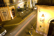 Mazatlan, Sinaloa, Mexico: The Centro Historico (Historic Center or downtown) of Mazatlan, Mexico, at night.