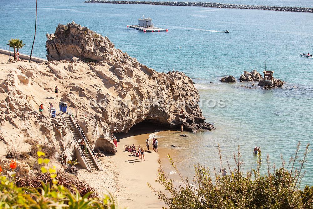 Corona Del Mar Beach in Newport Beach California