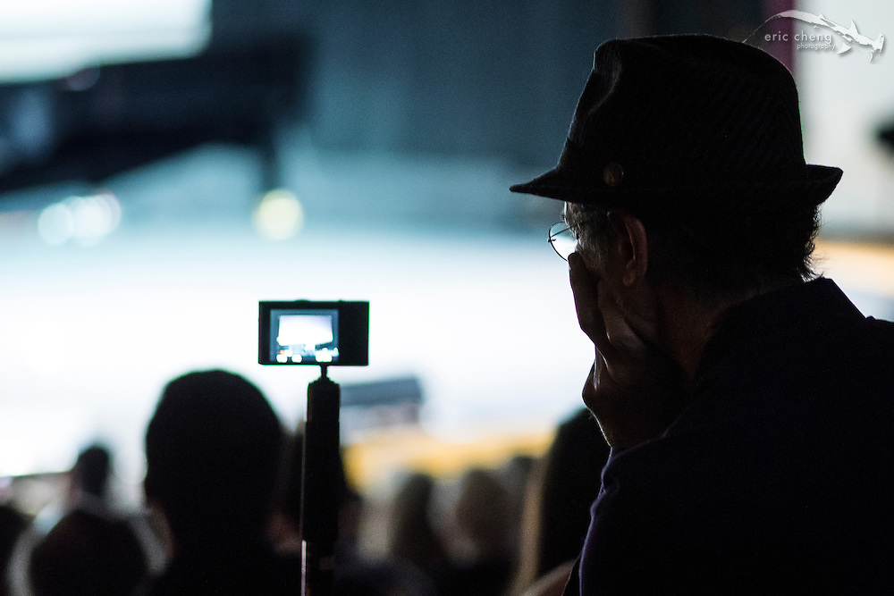 Tom Gruber takes video of the stage #egconf #eg8