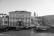 Italy. Venice elevated view. SAN SAMUELE church and the Grand Canal  Venice - Italy  view from CA REZONICO  palace / SAN SAMUELE eglise et Le grand canal  Venise - Italie vue depuis la CA REZONICO palais