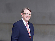 Andrew Marr Show departures<br /> BBC, Broadcasting House, London, Great Britain <br /> 19th February 2017 <br /> <br /> <br /> Lord Peter Mandelson<br />  president of Policy Network and Chairman of strategic advisory firm Global Counsel<br /> <br /> <br /> <br /> Photograph by Elliott Franks <br /> Image licensed to Elliott Franks Photography Services