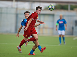 NAPLES, ITALY - Tuesday, September 17, 2019: Liverpool's Neco Williams (R) and SSC Napoli's Vincenzo Potenza during the UEFA Youth League Group E match between SSC Napoli and Liverpool FC at Stadio Comunale di Frattamaggiore. (Pic by David Rawcliffe/Propaganda)