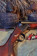 Ithaca Lefever Nitro Special Shotgun and Duck Hunting Gear