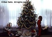 Christmas Tree, Child, Longwood Gardens, Kennett Square, Delaware Co., PA