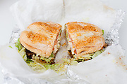 Torta Great Burrito Style from The Great Burrito ($8.00)