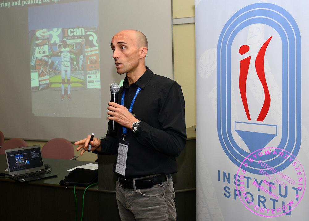 Spala 18/11/2014<br /> Konferencja trener&oacute;w szkolenia olimpijskiego<br /> Na zdj. Inigo Mujika<br /> Fot. Piotr Hawalej