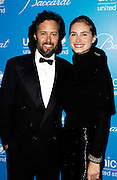 David Lauren and Lauren Bush pose at the 2009 UNICEF Snowflake Ball Arrivals in New York City on December 2, 2009.