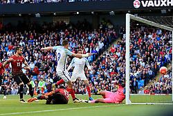 England's Jamie Vardy scores his sides second goal  - Mandatory byline: Matt McNulty/JMP - 07966386802 - 22/05/2016 - FOOTBALL - Etihad Stadium -Manchester,England - England v Turkey - International Friendly