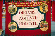 National Union of Public Employees Bermondsey General branch banner ....