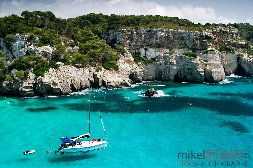 Macarella Cove. <br />