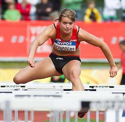 28-05-2011 ATLETIEK: HYPO MEETING 2011: GOTZIS<br /> Dafne Schippers (NED), Heptathlon - 100m Hurdles Women<br /> ***NETHERLANDS ONLY***<br /> ©2011-FotoHoogendoorn.nl/EXPA/P.Rinderer