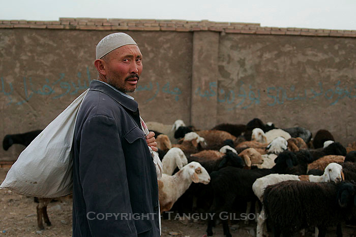 Uighurs in Xinjiang Kashgar China 2006-2009