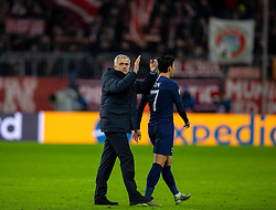 MUNICH, GERMANY - Wednesday, December 11, 2019: Tottenham Hotspur's manager José Mourinho after the final UEFA Champions League Group B match between FC Bayern München and Tottenham Hotspur FC at the Allianz Arena. Bayern Munich won 3-1. (Pic by David Rawcliffe/Propaganda)