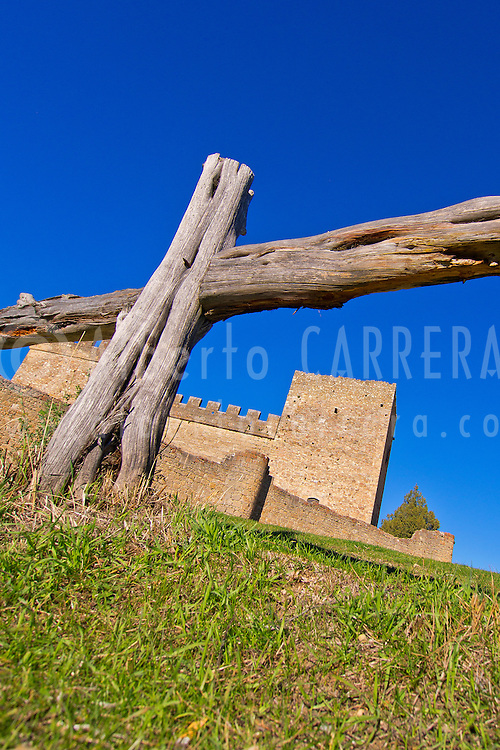 Alberto Carrera, Castle of Pedraza de la Sierra, Mediaeval Village, Segovia, Castilla y León, Spain, Europe.