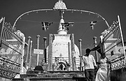 Thuparamaya is a Buddhist temple in Anuradhapura, Sri Lanka. Located in the sacred area of Mahamewna park, the Thuparamaya Stupa is the earliest Dagoba to be constructed in the island, dating back to the reign of King Devanampiya Tissa.
