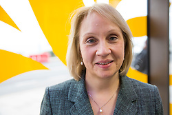 Brighton, UK. Greater Manchester Mayoral candidate and councillor for the Trafford area Cllr Jane Brophy at the Liberal Democrats Autumn Conference in Brighton. Photo Credit: Hugo Michiels