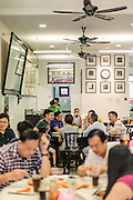 Yut Kee Kafe, a traditional Malaysian cafe in the spirit of the 'kopitiam'. These cafes serve local Malaysian food and Malaysian coffee.
