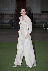 Image ©Licensed to i-Images Picture Agency. 04/06/2014. London, United Kingdom. Royal Academy Summer Exhibition Preview Party. Daisy Lowe arrives to the Summer Exhibition Preview Party at the Royal Academy of Arts. Picture by Daniel Leal-Olivas / i-Images