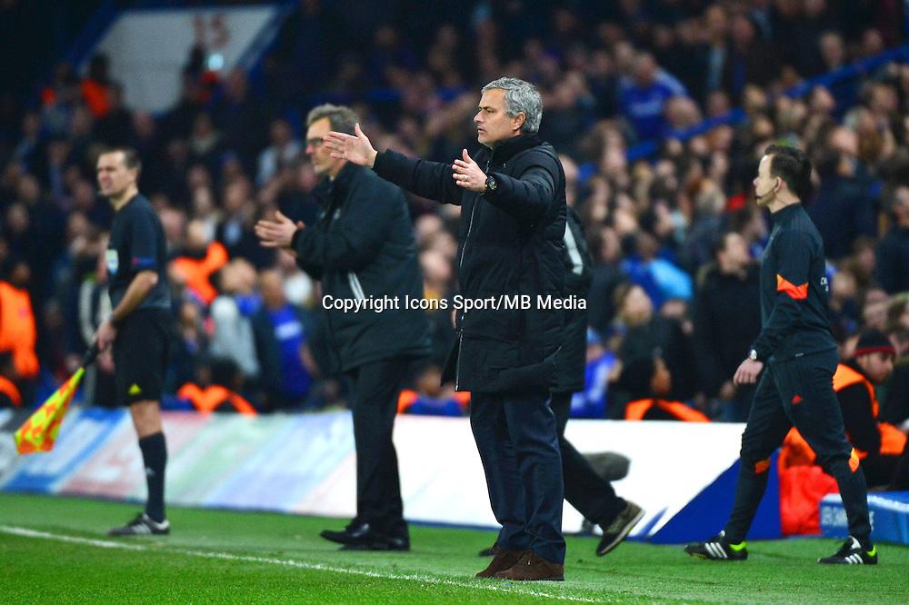 DeceptiJose MOURINHO - 11.03.2015 - Chelsea / Paris Saint Germain - 1/8Finale retour Champions League<br /> Photo : Dave Winter / Icon Sport