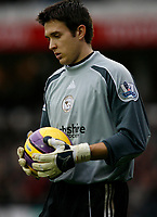 Photo: Steve Bond/Sportsbeat Images.<br /> Derby County v Blackburn Rovers. The FA Barclays Premiership. 30/12/2007. Derby reserve keeper Lewis Price