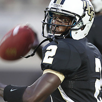 Central Florida quarterback Jeff Godfrey (2)during an NCAA football game between the Boston College Eagles and the UCF Knights at Bright House Networks Stadium on Saturday, September 10, 2011 in Orlando, Florida. (AP Photo/Alex Menendez)