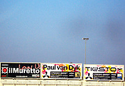 Signboards advertising club nights, Ibiza 2005
